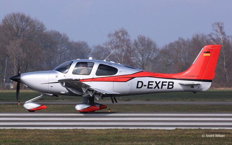Cirrus Sr22t G5 Gts D Exfb Cd Aircraft Gmbh